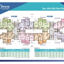 dhruva 2nd_4th Floor Plan
