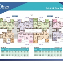 dhruva 3rd_5th Floor Plan